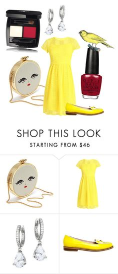 """Yellow"" by terezkasvitilova ❤ liked on Polyvore featuring Anna Field, Kate Spade, Opening Ceremony, yellow, set and women"