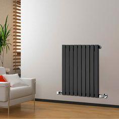 Delta Zwarte Design radiator - 635 x 630 x 46mm - 504 Watt - Image 1