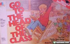 80's Head of the Class board game