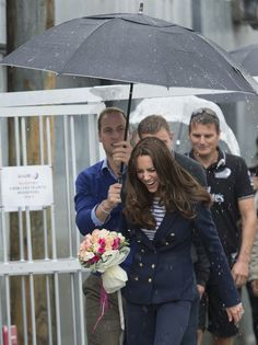 """Pin for Later: A Guide to Kate Middleton's Many Royal Tour Facial Expressions The """"Will, Save My Hair!"""""""