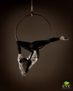 Aerial hoop is so much fun, it is gracefu but challenging. I would highly recommend for anyone looking to get fit while doing something fun!