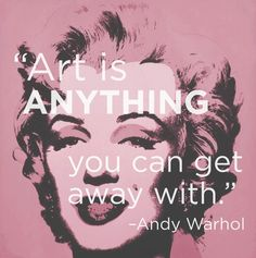 Andy Warhol quotes 14 Excellent Pieces Of Advice Every Artist Should Remember Citation Art, Andy Warhol Quotes, Art Quotes Artists, Creativity Quotes, Illustration, Arte Popular, Art Classroom, Classroom Ideas, Henri Matisse