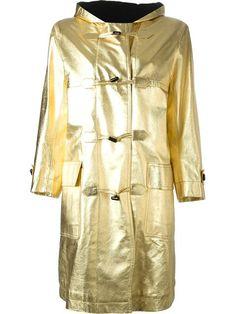 Yves Saint Laurent Vintage Toggle Fastening Coat - A.n.g.e.l.o Vintage - Farfetch.com