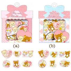 San-X My Only Rilakkuma 60-Piece Sticker Sacks