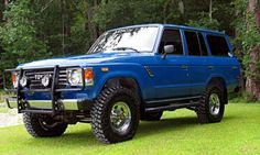 Toyota FJ60: And from our newest addition to Menath Insurance, Paul Thibodeau's dream car.