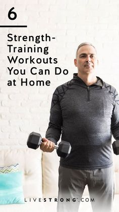 The Ultimate Dumbbell Workout for Strength Training at Home | Livestrong.com