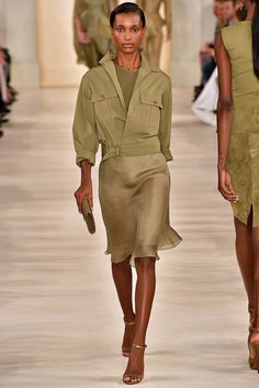 Ralph Lauren Spring 2015 Ready-to-Wear Fashion Show - Jasmine Tookes