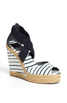 Tory Burch 'Natanya' Wedge Sandal (Online Only)