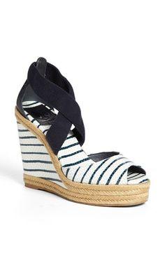 Tory Burch 'Natanya' Wedge Sandal (Online Only) | Nordstrom