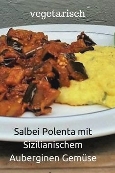 Sicilian eggplant vegetables with sage polenta The post Sicilian eggplant vegetables with sage polenta appeared first on Tasty Recipes. One Dish Meals Tasty Recipes Recipes Using Egg, Easy Bread Recipes, Potato Recipes, Lunch Recipes, Vegetarian Recipes, Chicken Recipes, Dinner Recipes, Salvia, Italian Sausage Recipes