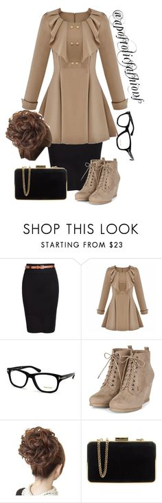"""""""Apostolic Fashions #1137"""" by apostolicfashions ❤ liked on Polyvore featuring Tom Ford and MICHAEL Michael Kors"""