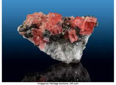 Rhodochrosite and Quartz Sweet Home Mine (Home Sweet Home Mine) Mount Bross, Alma District, Park Co. Colorado, USA