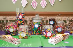 Fundraiser Idea : $1 guess... guess how many gum balls - winner takes home jar of candy.