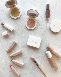 Nude shades lipstick by Rihanna
