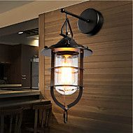 Wall+Sconces+Mini+Style+/+Bulb+Included+Tiffany+Metal+–+GBP+£+65.09