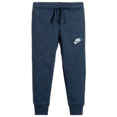 Nike Boys Blue Tracksuit Trousers at Childrensalon.com