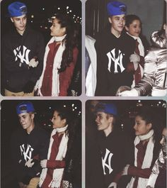 Justin Bieber and Ariana Grande (not real btw guys)