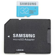 32GB Samsung C6 TF / Micro SDHC Memory Card with Card Adapter (BLUE) | Everbuying.com