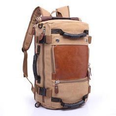 Brand Stylish Male Messenger Backpacking Bag