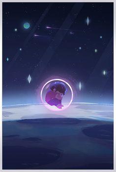 Steven no espaço