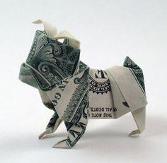 Adorable Dollar Origami