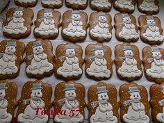 Gingerbread Cookies, Desserts, Food, Tailgate Desserts, Meal, Deserts, Essen, Dessert, Postres