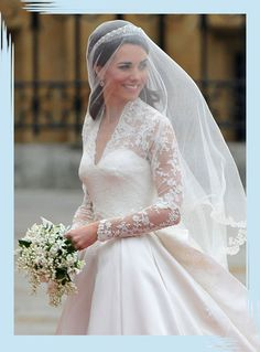 What Real-Life Princesses Wore for Their Weddings - Inspiration from legit princess brides. - Photos