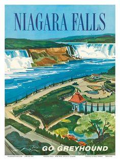 Niagara Falls, Ontario, Canada, New York, USA Prints by S. Fleming at AllPosters.com