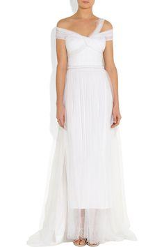 Une robe de mariée de vestale