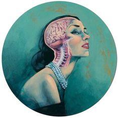 anatomy art ~ Fernando Vicente ~ beauty