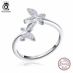 DARLING HER 9 Colors Unique Sunflower Crystal Wedding Rings Silvery Exquisite Allergy Free 1PC Graceful Ring