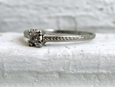 fine engagement ring