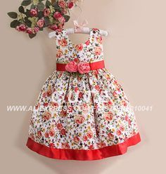 vestidos de bichi bonni jean - Buscar con Google Little Dresses, Little Girl Dresses, Cute Dresses, Girls Dresses, Toddler Fashion, Toddler Outfits, Kids Outfits, Kids Fashion, Baby Dress Design