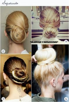 different bun styles