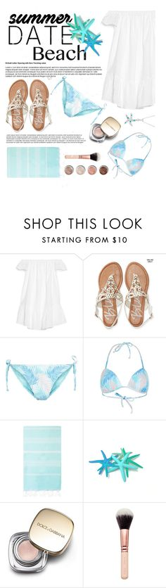 """""""Summer date : Finding Dory 😂🐋"""" by iconsoffashion ❤ liked on Polyvore featuring Elizabeth and James, Aéropostale, New Look, Turkish-T, Terre Mère, Dolce&Gabbana and La Preciosa"""
