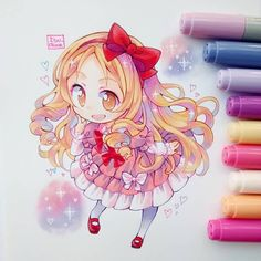 Marvelous Learn To Draw Manga Ideas. Exquisite Learn To Draw Manga Ideas. Kawaii Chibi, Cute Chibi, Kawaii Art, Anime Chibi, Kawaii Anime, Manga Anime, Anime Art, Copic Drawings, Kawaii Drawings
