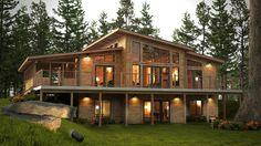 Okanagan - Discovery Dream Homes Ltd Great idea for Lake house