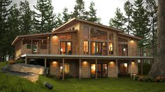 Okanagan - Discovery Dream Homes Ltd Great idea for Lake house