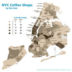 EV Grieve: Report: East Village (ZIP 10003) leads the city in places to buy coffee or tea