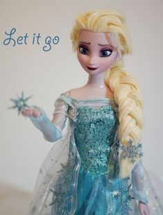Elsa the Snow Queen OOAK by lulemee on deviantART