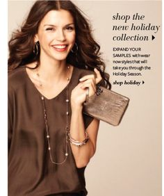 Hey Fashionistas!  The new Holiday Collection is here.  I am booking Holiday Trunk Shows now... 502-439-6347