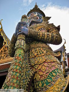 giant demon thailand pattern - Google Search