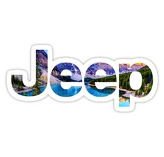 """""""Jeep Logo"""" Stickers by kristenk14 