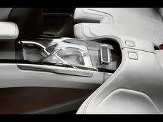 2009 Volvo S60 Concept - Crystal Center Stack and Rear Cupholder - 1920x1440 - Wallpaper