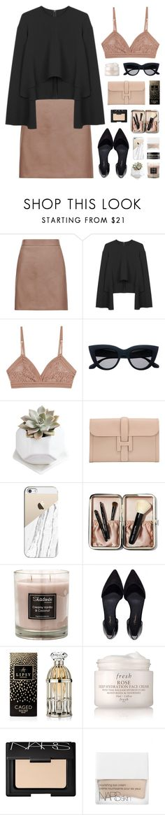"""amorousness"" by martosaur ❤ liked on Polyvore featuring Reiss, Lonely, Hermès, Casetify, Bobbi Brown Cosmetics, Lipsy, Fresh, NARS Cosmetics and Earth's Nectar"