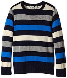 The Children's Place Big Boys' Multi Stripe Sweater, Tida... $16.99