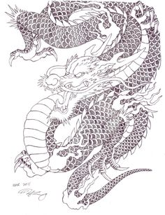 japanese_tattoo_dragon_by_zell381-d3chjc4.jpg 900×1,172 pixels