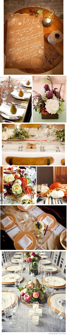 Thanksgiving Table [ariannabelle.com]