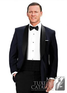6af4081c1f5e Blue Tuxedos, January 2016, Color Red, Midnight Blue, Modern Outfits, Black  Satin, Suit Rentals, Strong, Suit Jacket