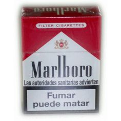 Marlboro Pocket Pack (200 Cigarettes) ❤ liked on Polyvore featuring accessories, smoking, cigarette and other